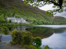 Kylemore Abbey Castle Galway Foto de Stock Royalty Free