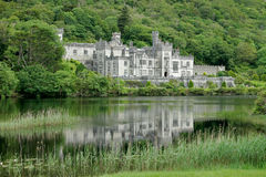 Kylemore Abbey Castle, Galway, Ireland. View of the Kylemore Abbey Castle, Galway, Ireland stock image