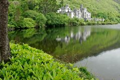 Kylemore Abbey Castle, Galway, Ireland Stock Photography