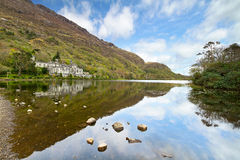 Kylemore Abbey in Connemara Stock Images