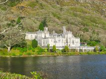 Kylemore Abbey Connemara County Galway Ireland Stock Afbeeldingen