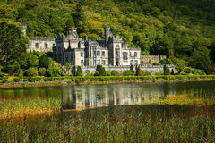 Kylemore Abbey in Connemara, County Galway, Ireland Royalty Free Stock Photography