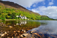 Kylemore Abbey in Connemara, County Galway, Ireland. Stock Images