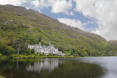 Kylemore abbey in Connemara, Ireland Royalty Free Stock Image