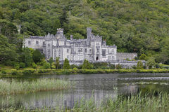 Kylemore abbey in Connemara, Ireland Royalty Free Stock Images