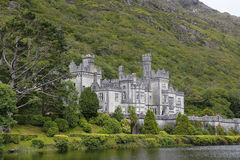 Kylemore abbey in Connemara, Ireland Stock Photos