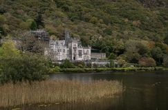 Kylemore Abbey in Connemara, Ireland royalty free stock photos