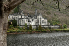 Kylemore Abbey, Connemara, Ireland - During The Winter Stock Photo