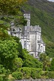 Kylemore Abbey, Connemara, west of Ireland. Kylemore Abbey is a Benedictine monastery founded in 1920 on the grounds of Kylemore Castle, in Connemara, County Royalty Free Stock Photography