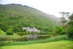 Kylemore Abbey. County Galway, Ireland. Kylemore Abbey is a Benedictine monastery founded in 1920 on the grounds of Kylemore Castle, in Connemara, County Galway Stock Image