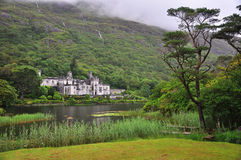 Kylemore Abbey, Ireland. Very nice and famouse NP in Ireland Royalty Free Stock Photos