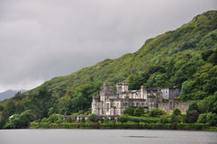 Kylemore Abbey, Ireland. Very nice and famouse NP in Ireland Stock Photo