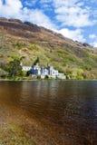 Kylemore Abbey in  Ireland. Stock Photo