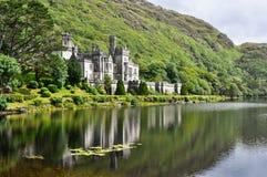 Kylemore Abbey, Ireland. Kylemore Abbey in Connemara mountains, Ireland Royalty Free Stock Photos