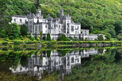 Kylemore Abbey, Ireland. Kylemore Abbey in Connemara mountains, Ireland Royalty Free Stock Image