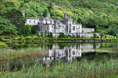 Kylemore Abbey, Ireland Stock Photo