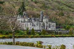 Kylemore Abbey in Ireland Royalty Free Stock Image