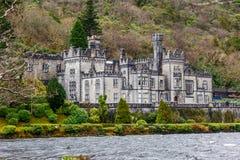 Kylemore Abbey in Ireland Stock Photo