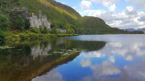 Kylemore abbey. View in Ireland Stock Photo