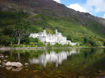 Kylemore Abbey. A magnificent castle in Connemara, Ireland royalty free stock images