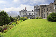 Kylemore Abbey. Stock Photo