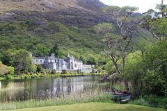 Kylemore Abbey. Royalty Free Stock Photography