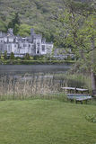 Kylemore Abbey, near Connemara National Park Stock Images