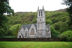 Kylemore Abbey Neo Gothic Church Royalty Free Stock Image
