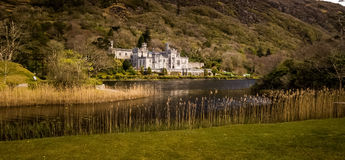 Kylemore abbey. Photograph of the  Kylemore abbey , Ireland Royalty Free Stock Photos