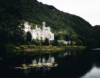 Kylemore Abbey, Connamara stock photos
