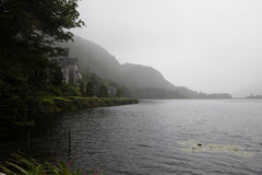 Kylemore abbotskloster, Irland Arkivbilder