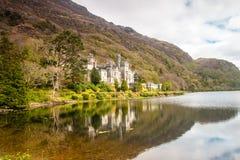 Kylemore Abey, Irland stockbilder