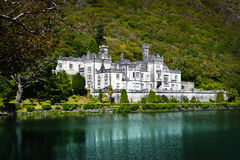 Kylemore Abtei, Connemara, Irland Lizenzfreie Stockbilder