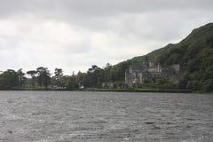 Kylemore-Abtei in Connemara, Irland Lizenzfreies Stockfoto