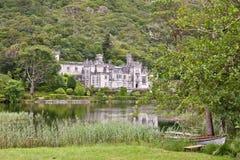 Kylemore-Abtei, Connemara, westlich von Irland Lizenzfreies Stockbild