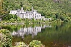 Kylemore-Abtei, Connemara, westlich von Irland Lizenzfreies Stockfoto