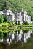 Kylemore Abtei, Irland Stockbild