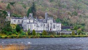 Kylemore Abtei in Irland Lizenzfreies Stockbild