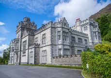 Kylemore opactwo, Connemara, okręg administracyjny Galaway, Irlandia zdjęcia stock