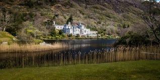 Kylemore slott Arkivbild