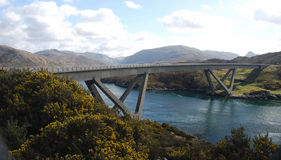 kylesku γεφυρών Στοκ εικόνες με δικαίωμα ελεύθερης χρήσης