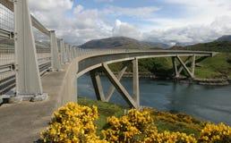 kylesku 2 мостов стоковая фотография rf