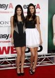 Kylie Jenner και Kendall Jenner στοκ εικόνες με δικαίωμα ελεύθερης χρήσης