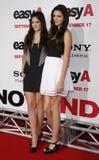 Kylie Jenner e Kendall Jenner Fotografie Stock Libere da Diritti