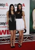 Kylie Jenner et Kendall Jenner Images libres de droits