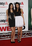 Kylie Jenner and Kendall Jenner. Kylie and Kendall Jenner at the Los Angeles Premiere of `Easy A` held at the Grauman`s Chinese Theater in Hollywood, California stock photos