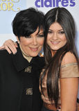 Kylie Jenner,Kris Jenner Royalty Free Stock Photo