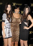 Kylie Jenner, Kris Jenner and Kendall Jenner Stock Images