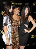 Kylie Jenner, Kris Jenner and Kendall Jenner Royalty Free Stock Photography