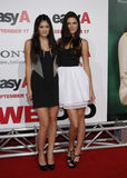 Kylie Jenner y Kendall Jenner Imágenes de archivo libres de regalías